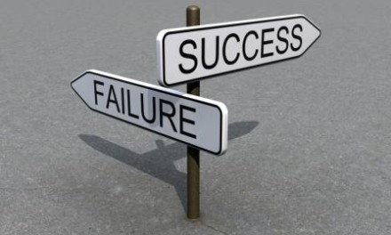 Failure on the path to success